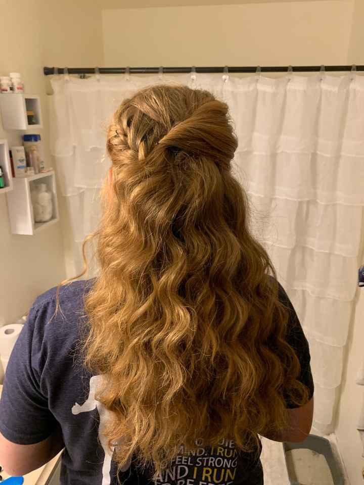 Hair trial success! - 1