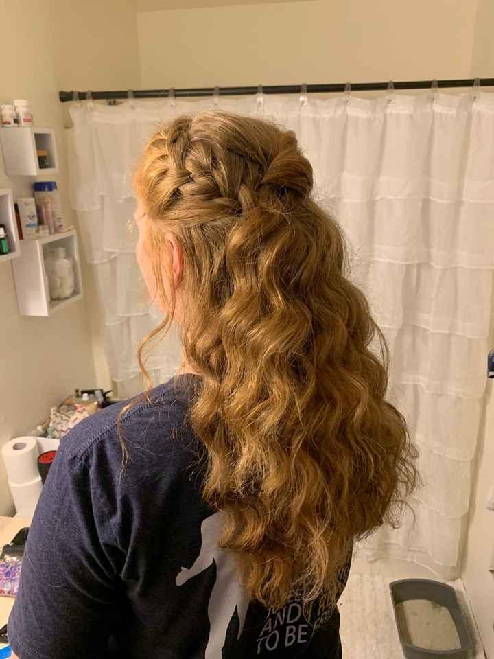 Hair trial success! - 2
