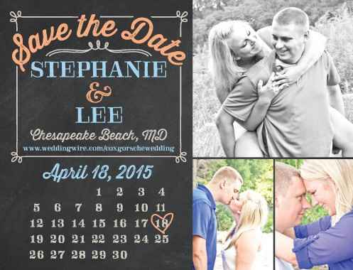 Show me your save the date