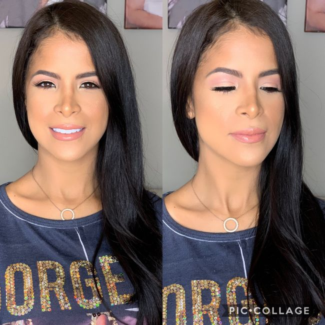 My First Makeup Trial 💁🏻♀️ 1