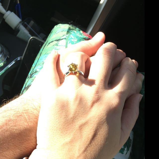 Show me your unique engagement rings! 13