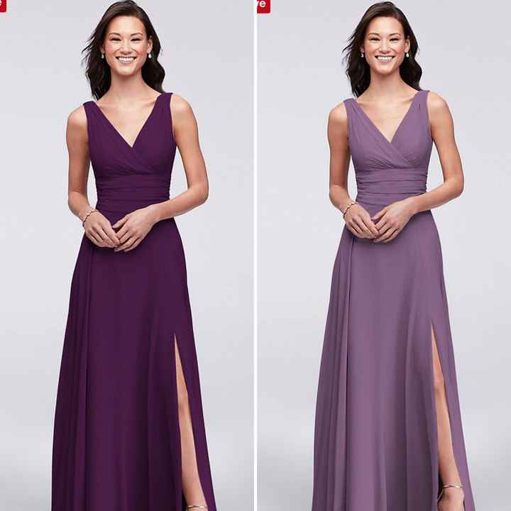 Different or same dress for matron and maid of honors - 1