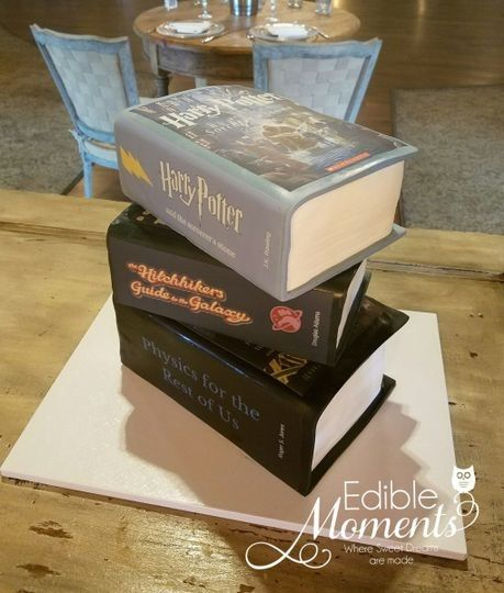 Harry Potter Grooms Cake 3
