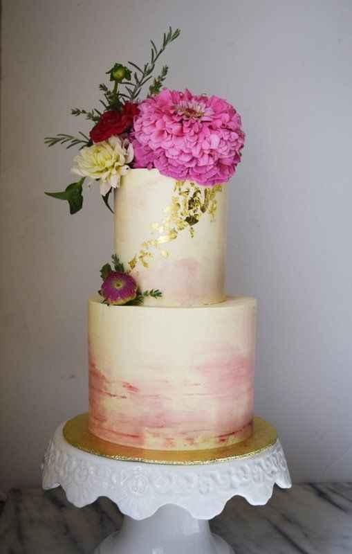 Watercolor cake #1: