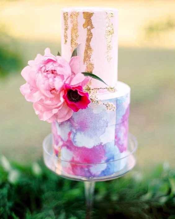 Watercolor cake #2: