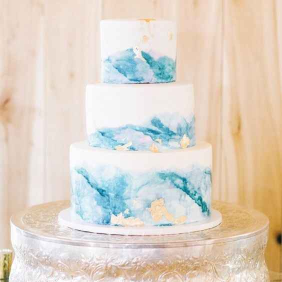 Watercolor cake #3: