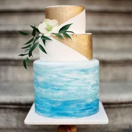 Watercolor cake #4: