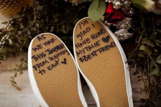 Love note for your sole