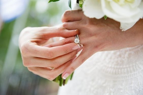 Wedding Superstitions - Wearing ring on left ring finger 1