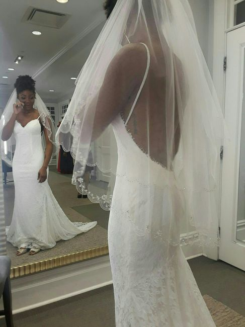 Show me your David's Bridal Dresses 1