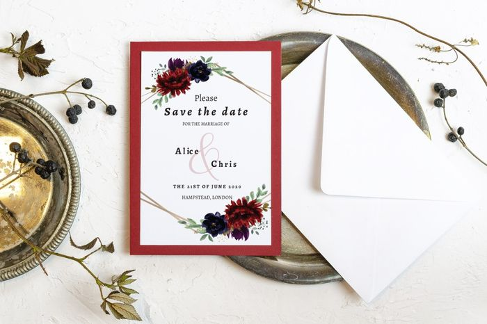 Advice about save-the-dates and invitations 4