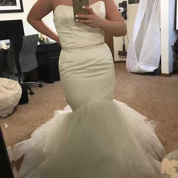 Dress alterations - 1