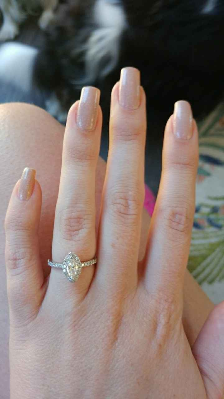 Wedding Day Nails - 1