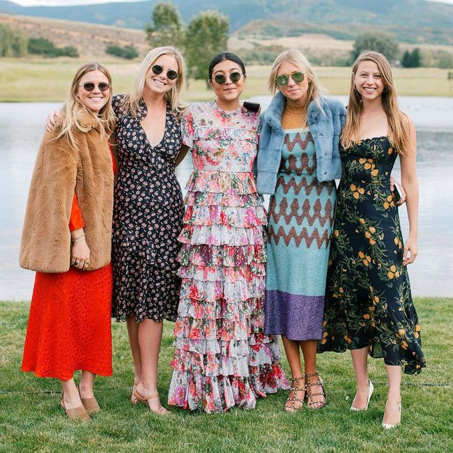 What to wear for a fall outdoor wedding? 2