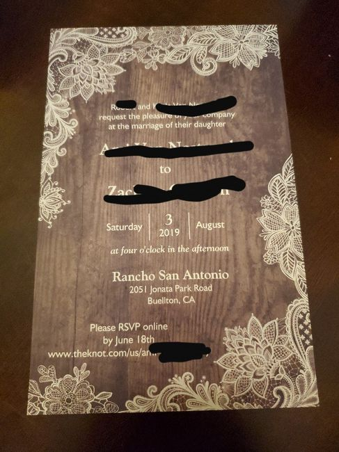 Help me find reasonably priced invites. - 1