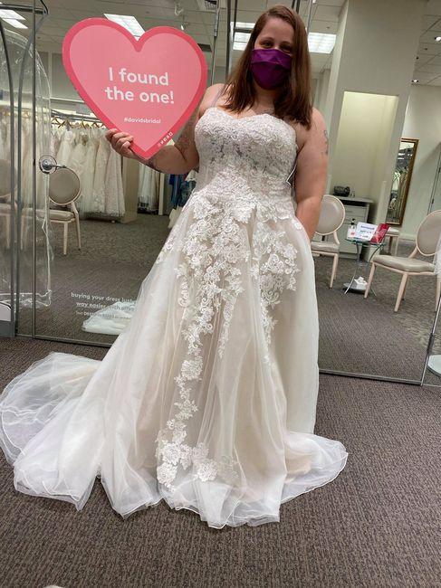 i found my dress today 1