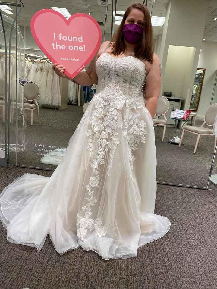 i found my dress today - 1