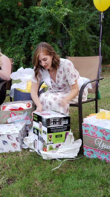 Beauty and the beast bridal shower! - 1