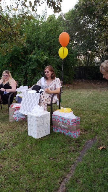 Beauty and the beast bridal shower! - 2