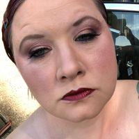 Diy makeup trial! What do you think? Glam/goth - 2
