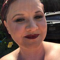 Diy makeup trial! What do you think? Glam/goth - 3