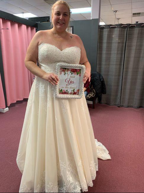 i got my wedding dress! 1