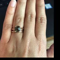 Wedding Ring and Engagement Ring Gap? - 1