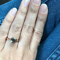 Simple solitaire rings - 1