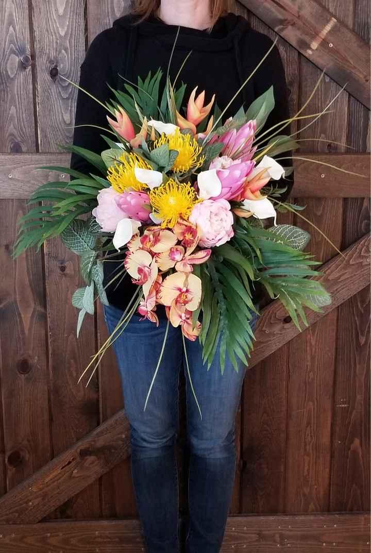 Fake wedding Flowers - 2
