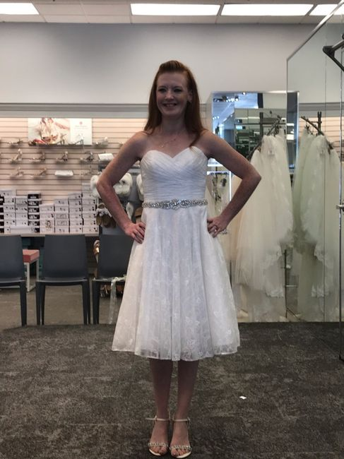 i found my dress!!!! i would love to see pictures of everyone else's!!! 4