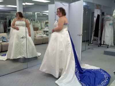 Show off your dress's ladies.