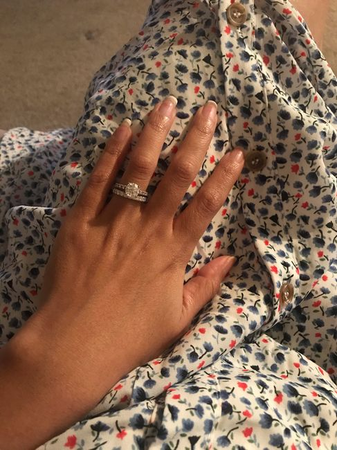 Brides and brides to be! i want to see your wedding bands or ideas for wedding bands! 5