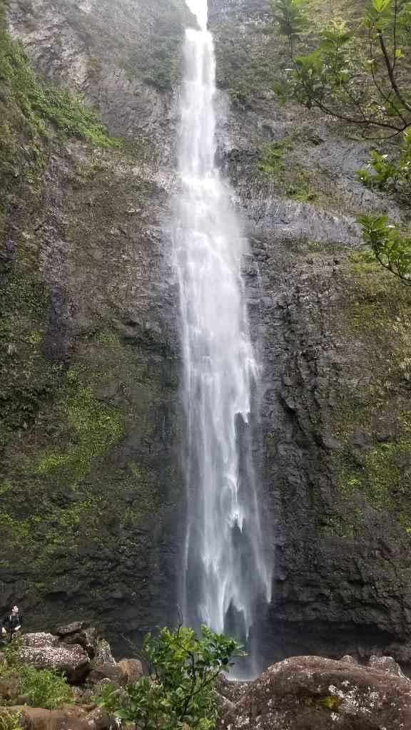 Hanakapi'ai Falls (FH for scale)