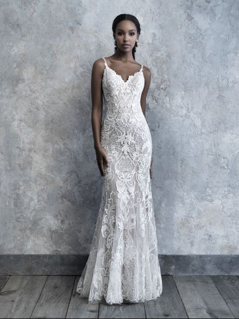 Lace Dress Alterations - 1
