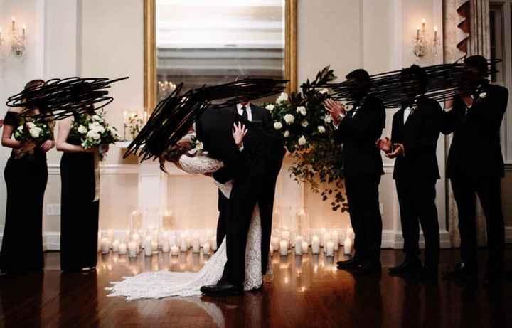 Black Bridesmaid Dresses - 1