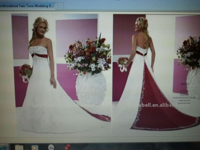 online wedding dress shopping??