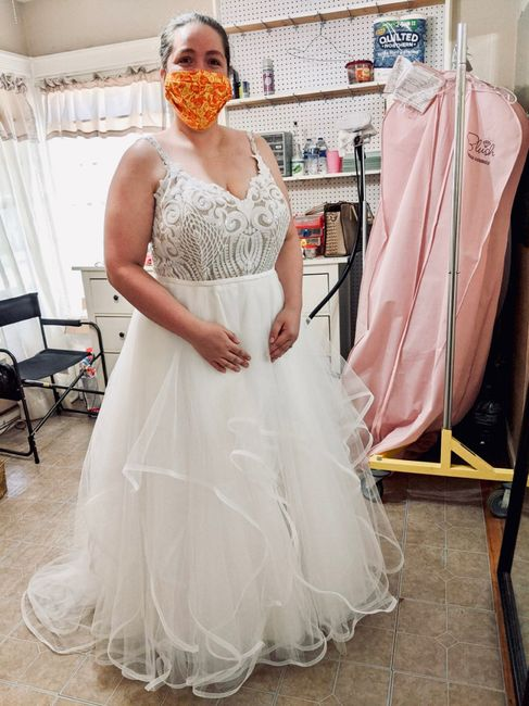 Dress fitting - so excited!!! 1