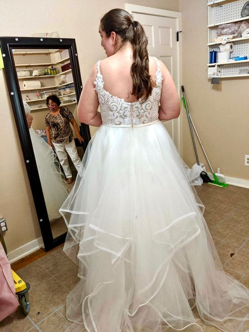 Dress fitting - so excited!!! 2