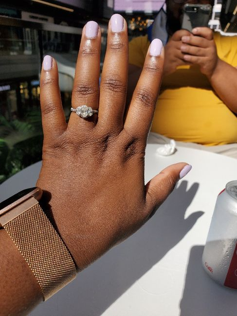 i want to see your engagement rings! 7