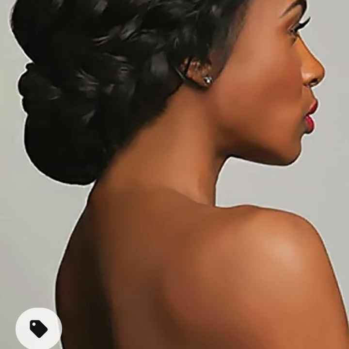 Hairstyle ideas for African American bride? - 2