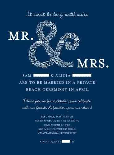 Wording for destination wedding invites....thoughts??