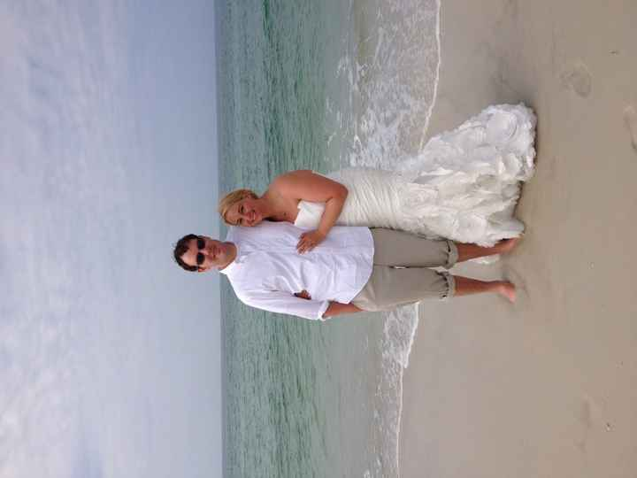 Non-pro pics from our April 27th beach wedding!! (Pic heavy!!)