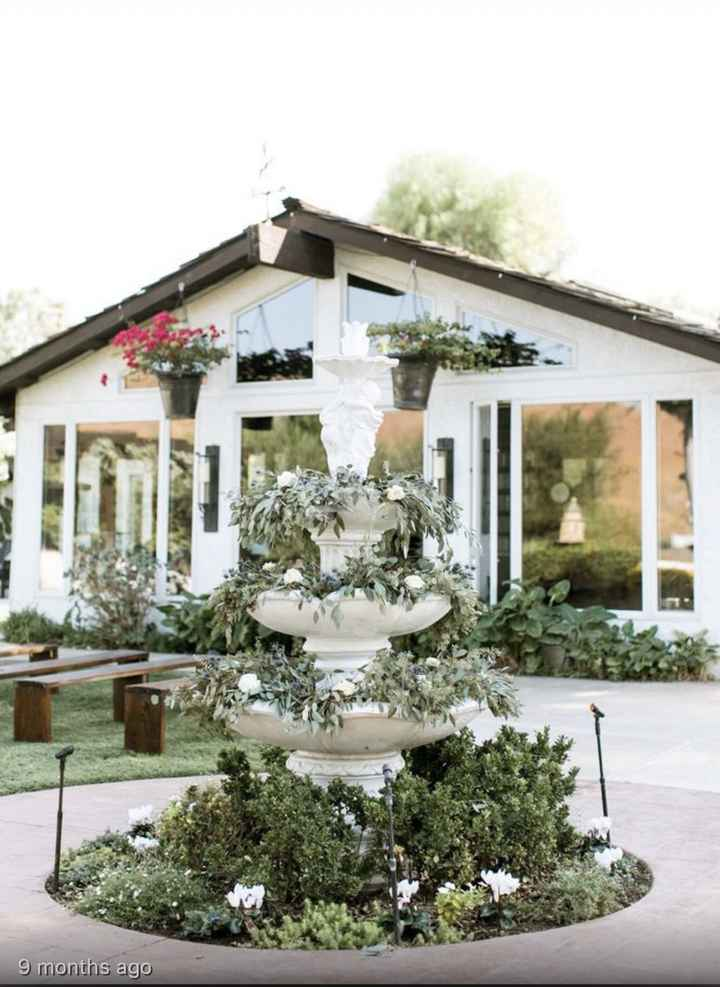 California brides and grooms let's see your venue(s)! - 1