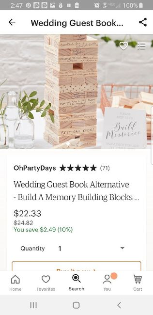 Creative Guest Book Ideas 4