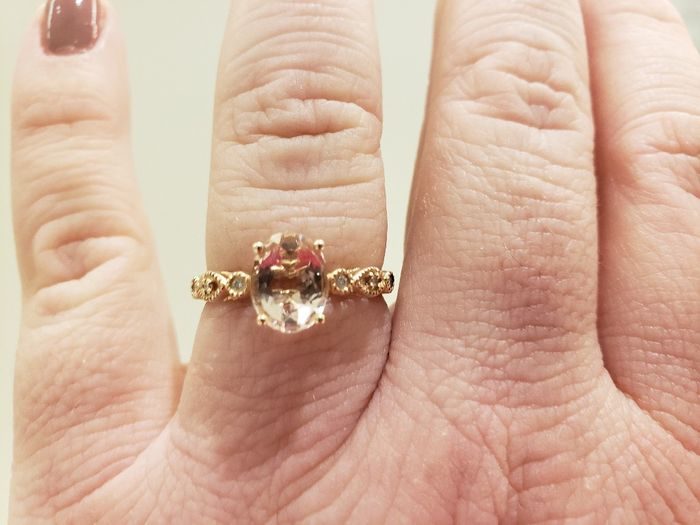 🗣 Rose Gold Rings 15