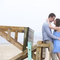 I'm back! Which engagement pic do you like better?