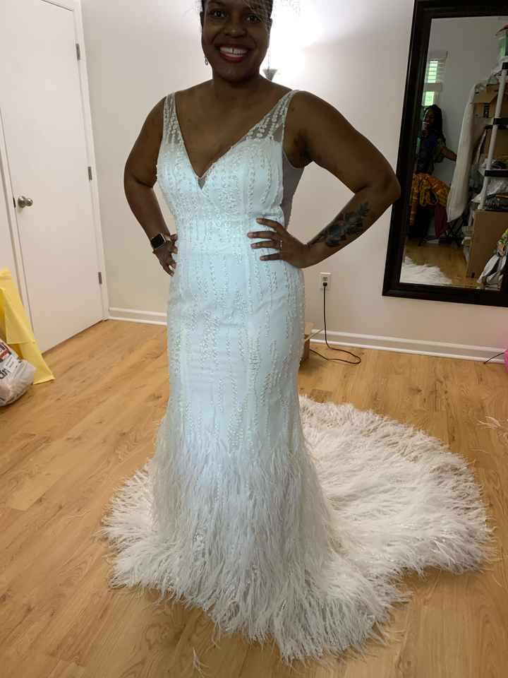 First Wedding Gown Fitting! - 1