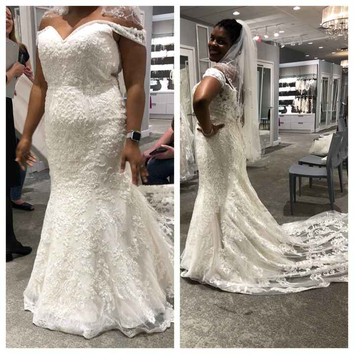 What Dresses Did You Try, And Not End Up Buying?? - 1