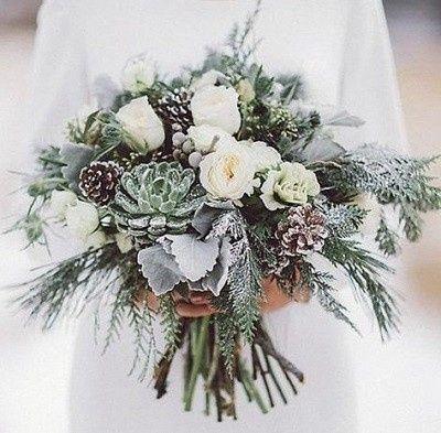 Which Winter Wedding Bouquet? 2
