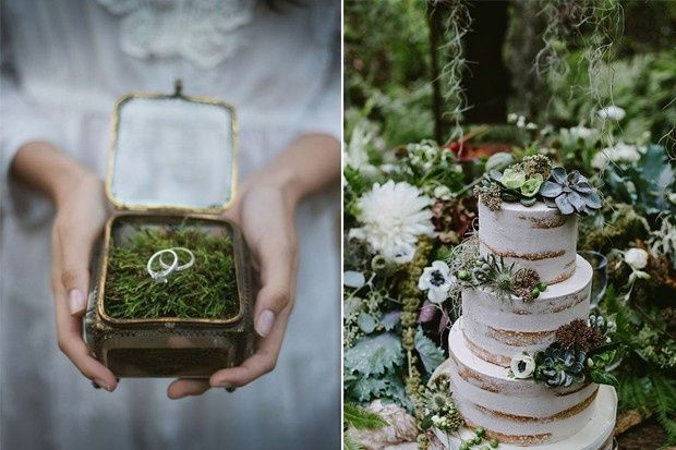 diy Enchanted Forest Themed Wedding Decorations 7